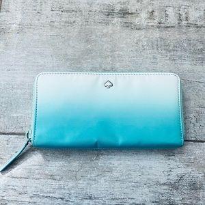 Kate Spade FIJI GREEN Large continental wallet